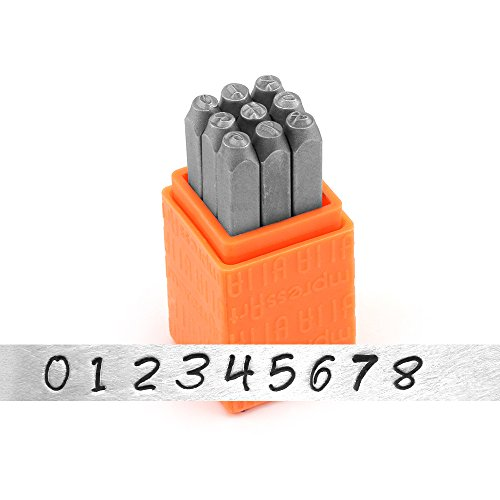 ImpressArt Basic Bridgette Numbers Metal product image