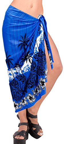 Bikini LA Coprire Resort Crociera Blu Costume da Aloha Bagno t427 Sarong LEELA Usura Hawaiian Gonna SRxqSAnw