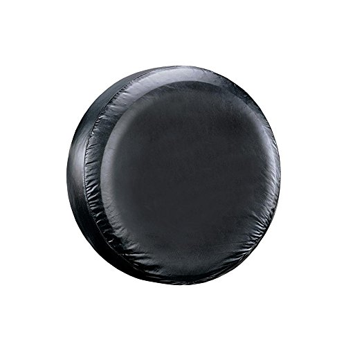 Leader Accessories Univesal Spare Tire Cover For Jeep, Trailer, RV, SUV, Truck Wheel (Black, 26