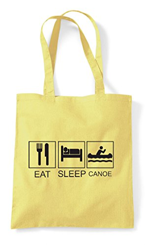 Activity Lemon Sleep Shopper Eat Tiles Tote Funny Bag Hobby Canoe zqPdwX