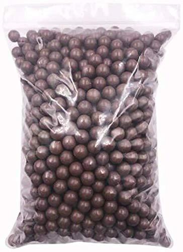 GK 100 Unids Tirachinas Barro Arcilla Munici/ón Bolas S/ólidas Caza BB 10mm Rodamientos Caza Bolas de Barro M/ármoles de Tierra Tiro al Blanco Pr/áctica Tiro