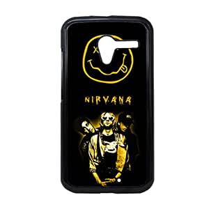 Generic Durable Soft Friendly Phone Case For Teen Girls Custom Design With Rock Band Nirvana For Moto X Choose Design 3