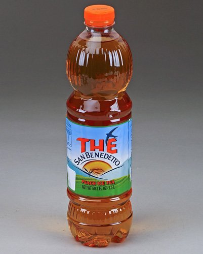 San Benedetto Peach Iced Tea - (Imported from Italy) Big 1.5 Liter/ 50.55 Oz Plastic Bottle (Pack Of 6) by San Benedetto