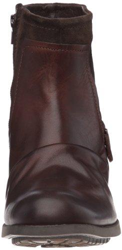 Base London Magnet - Botas de cuero hombre marrón - Marron (Waxy suede bordo)
