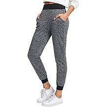 SweatyRocks Women's Sweatpants Yoga Workout Athletic Joggers Pants with Pockets