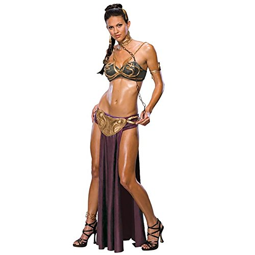 Princess Leia Slave Costume Hair (Princess Leia Slave Costume - Large - Dress Size)