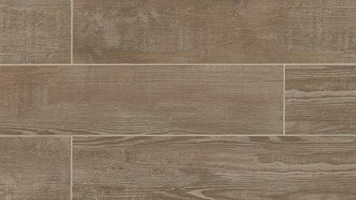 7-3/4 x 23-5/8 Bayou Country 8 x 24 Tile in Taupe, 1 SqFt