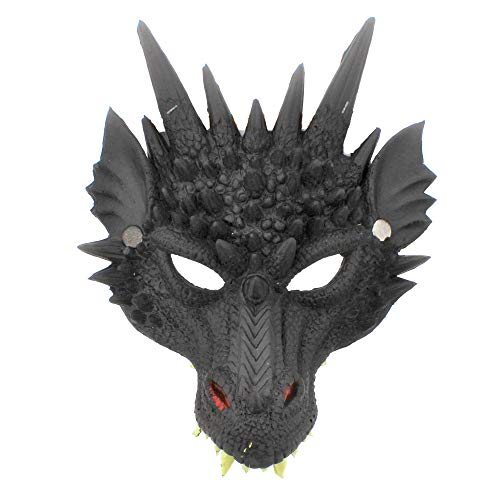 Zac's Alter Ego Fancy Dress Dragon Mask - Great for World Book Day & -