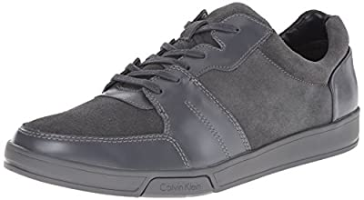 Calvin Klein Men's Bane Suede/Action Fashion Sneaker