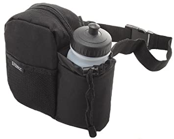 55e15c2c8e1c Everest Insulated Water Bottle Waist Fanny Pack Bag BH-14NB Black by ...