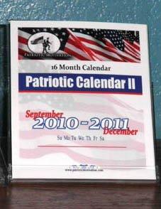 16 Month 2010 Calendar (16 Month Patriotic Calendar II September 2010-December 2011)