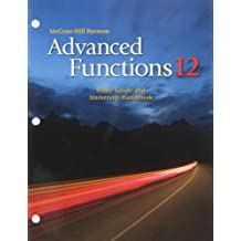 Advanced Functions 12 Study Guide and University Handbook