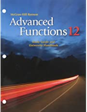 Advanced Functions 12: Study Guide and University Handbook