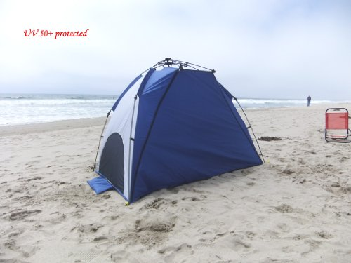 Genji Sports One-Step Instant Push Up Hexagon Beach Tent (Tall) & Sports One-Step Instant Push Up Hexagon Beach Tent (Tall)