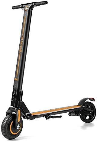 Roller Pro - Patinete Eléctrico, Motor Brushless 250W, MAX. Velocidad de 24 Km/h, Plegable, Incluye App, Bateria de Litio