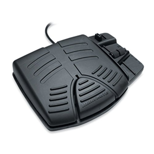 (New Style Minn Kota Model 2994727 Power Drive V2 Replacement Corded Foot Pedal (Fits Round Plug Only))