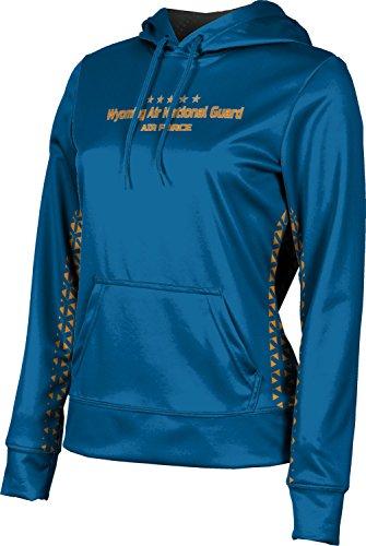 Girls' Wyoming Air National Guard Military Geometric Hoodie Sweatshirt (Apparel)