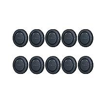 10 Pcs Camera Body Cap for Sony E Mount Cameras a6500 a6300 a6000 a5100 a5000 A9 A7 A7S A7R A7II A7SII A7RII NEX-3 NEX-3N NEX-F3 NEX-C3 NEX-5 5C 5N 5R 5T NEX-6 NEX-7 as ALC-B1EM