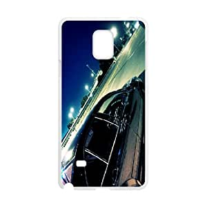 Samsung Galaxy Note 4 Cases parking at Night, Vety, [blanco]