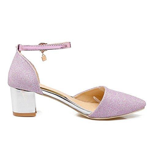TAOFFEN Bride 1 Sandales Pink Cheville Femmes rrqx4pzSw5