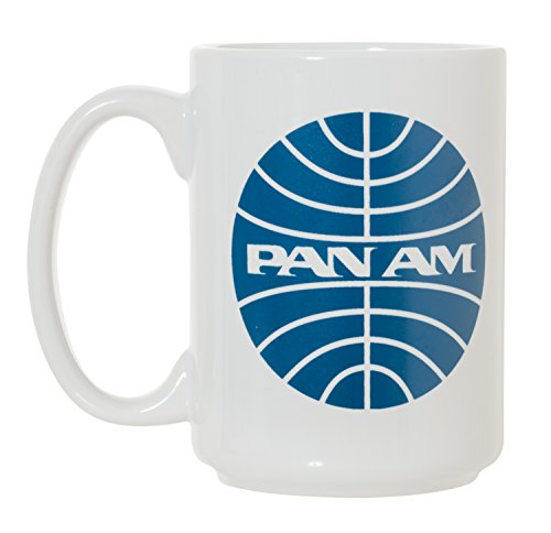 Pan Am Pan American Airlines Large 15 oz Double-Sided Coffee Tea Mug (Pan Am)
