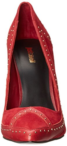 Women's Brushed Pump Raspberry Leather Dress Just Cavalli 4axwq5
