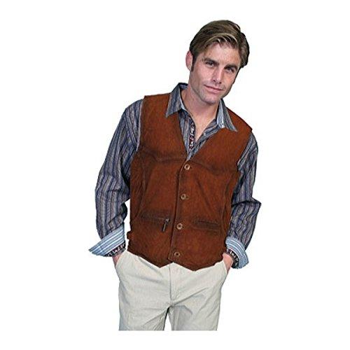 [スカーリー Scully] メンズ トップス ベスト Leather Vest 900 [並行輸入品] B07DJ1346Z M