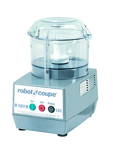 Robot Coupe R 101 B CLR Commercial Food Processor with 2.5-Quart Clear Polycarbonate Bowl, 120-Volts
