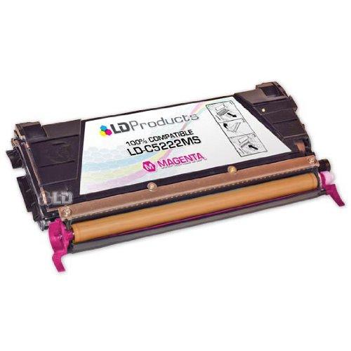 222MS Magenta Laser Toner Cartridge for Lexmark (C520/C522 Series Printers) (C5222ms Magenta Laser)