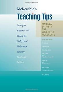McKeachie's Teaching Tips: Wilbert McKeachie, Marilla Svinicki ...