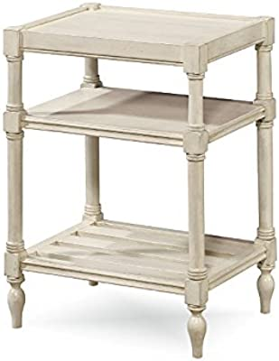 Universal Furniture 987817 Summer Hill Collection Chair Side Table, Cotton
