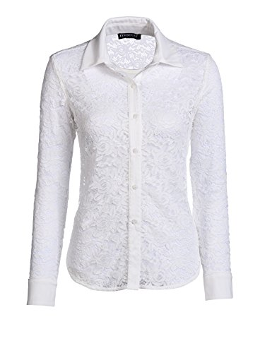Mocca by J.L. - Camisas - para mujer wollweiss