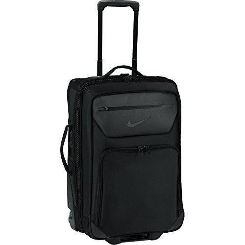 Nike Departure III Roller Luggage Bag (One Size) (Black) by NIKE