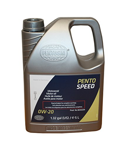 Pentosin 8044209 Pentospeed Engine Oil (0W-20), 5 l, 1 Pack (Pentosin Oil Engine)