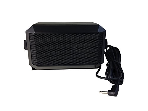 Anteenna TW-07-L TYPE CB EXTENAL SPEAKER For Mobile Transceiver (Ham Radio/CB Radio) With Swivel Bracket 5W 1.8M Cable With 3.5mm Mono L TYPE Plug