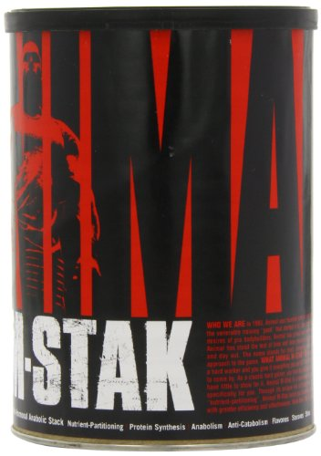 Universal Nutrition Animal M Stak Non Hormonal All Natural Anabolic Gainer Supplement, 21 Count