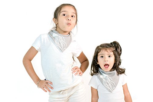 Bandana Bibs,Beechtree Baby 4 Pack Soft and Absorbent,Hypoallergenic,100% Natural Cotton Drool Bibs with Snaps for Drooling & Teething, Unisex Baby Gift Set for Boys Girls (Ocean Design Nature' Print) by Beechtree Baby (Image #3)