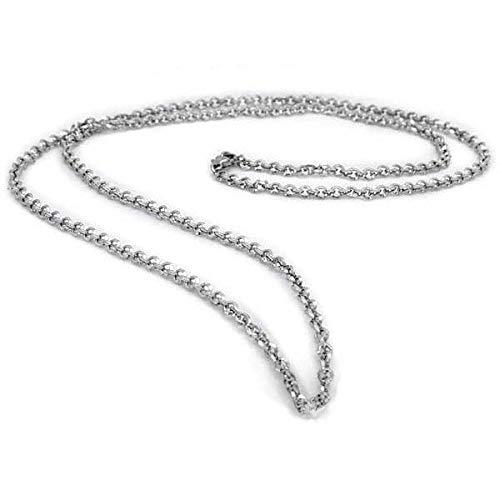Moria Mithril Chain, Officially Licensed The Hobbit and The Lord of The Rings Jewelry Through Middle-Earth Enterprises.