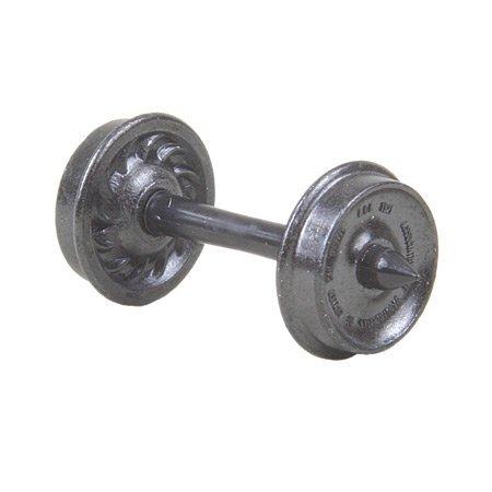 HO Metal Wheels, 33''/Ribbed (12)
