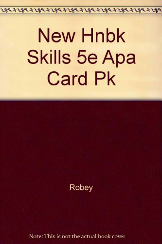 New Handbook of Basic Writing Skills with APA Update Card