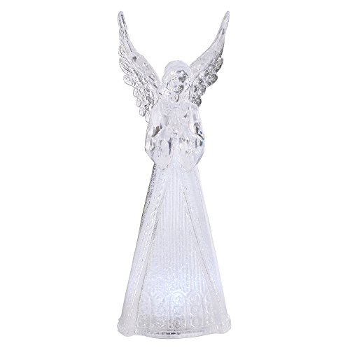 Napco Clear Angel Figure with LED by Napco