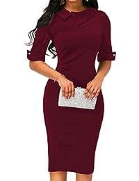 Women Dress Clearance!!! Retro Bodycon Formal Office Dress Pencil Dress