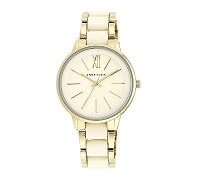 Anne Klein Goldtone Bracelet Watch with Ivory Accents