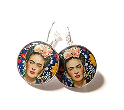Pendientes de Frida Kahlo, Frida kahlo joyas, pendientes ...