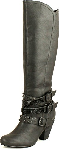 Black Motorcycle Riding Boots - 3