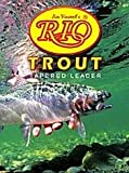 Rio: Trout Knotless Leader 7.5ft LineWeight 4x 0.007in 0.178mm, Outdoor Stuffs