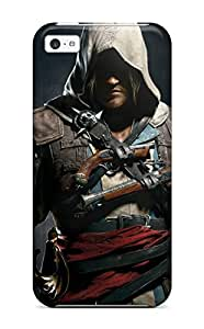 Evelyn C. Wingfield's Shop Best 2834773K69082973 New Design Shatterproof Case For Iphone 5c (assassins Creed 4 Black Flag)