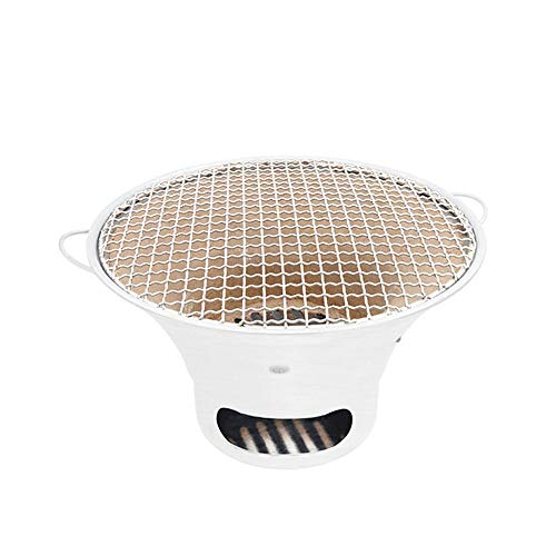 - Wuliwu Korean Charcoal Barbecue Home Garden/Indoor Table Charcoal BBQ Large Capacity Charcoal Oven Friends Dinner Barbecue Suitable for Hotel Grill Restaurant (Size : L)