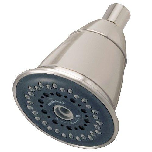 Oxygenics Silver Standard 88546 PowerMassage Brushed Nickel Fixed Shower Head