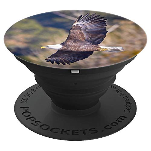 American Bald Eagle Photo for July 4th Independence Freedom - PopSockets Grip and Stand for Phones and Tablets